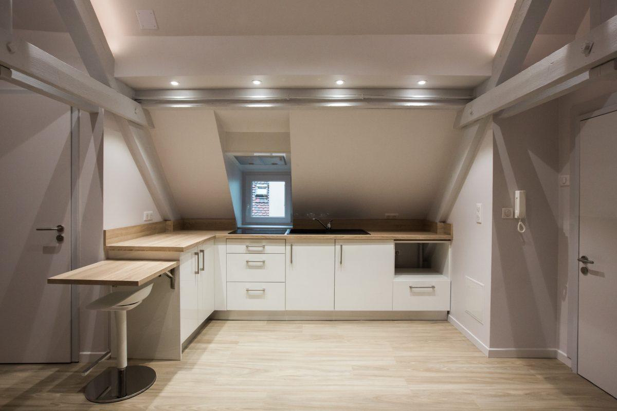 rénovation d'un appartement strasbourg petite france - d'concept