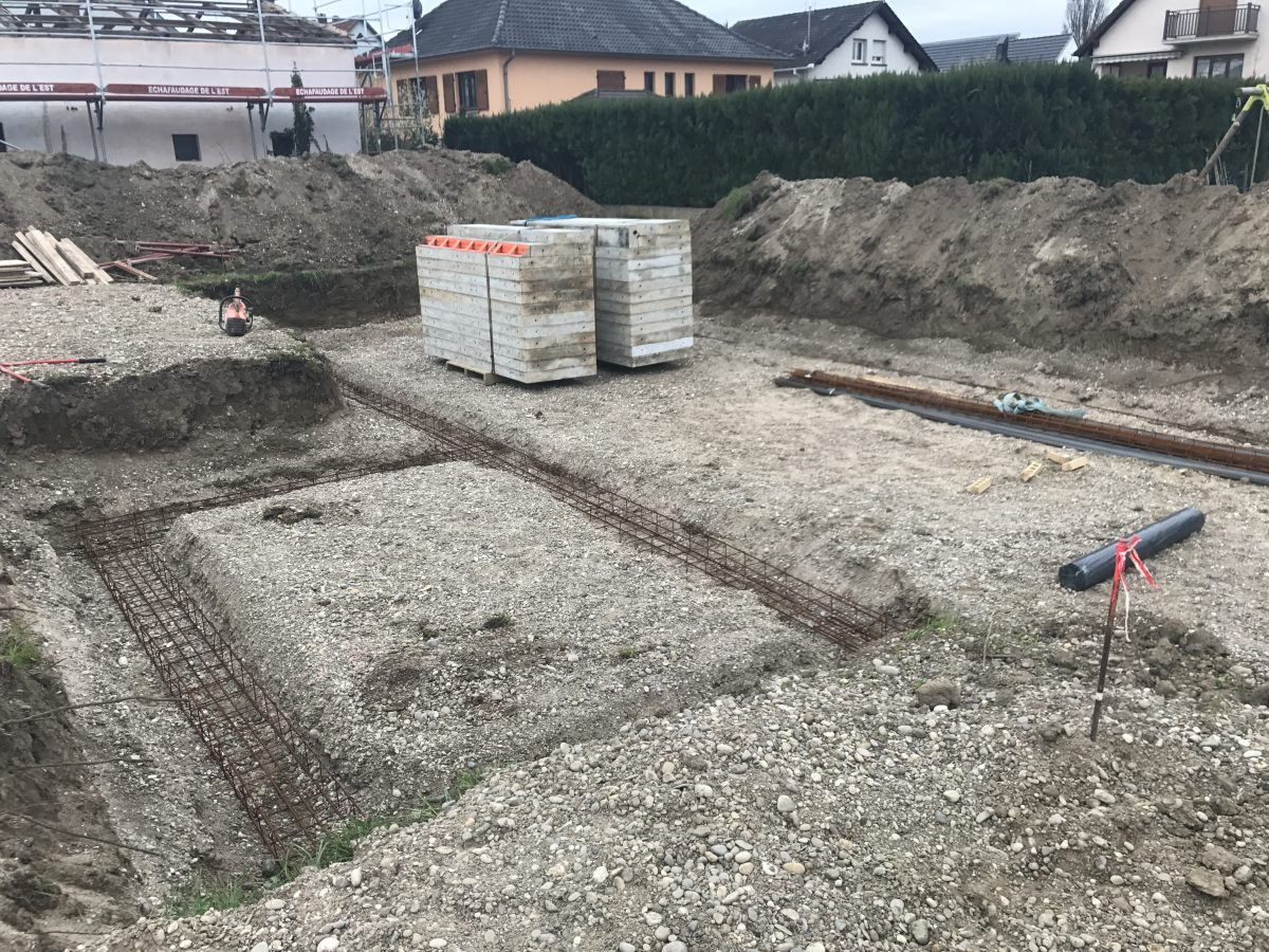 Construction maison avec piscine La Wantzenau