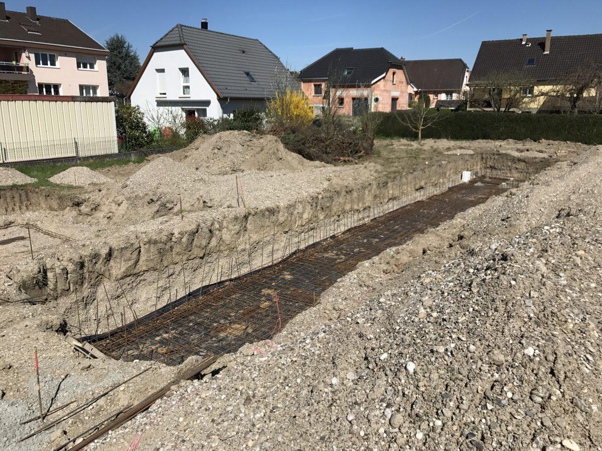 Construction maison avec piscine La Wantzenau