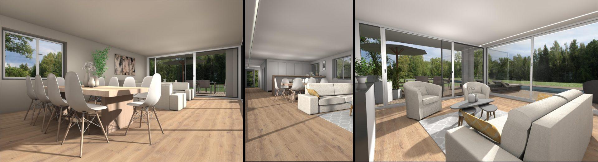 Construction d'une maison avec piscine à La Wantzenau