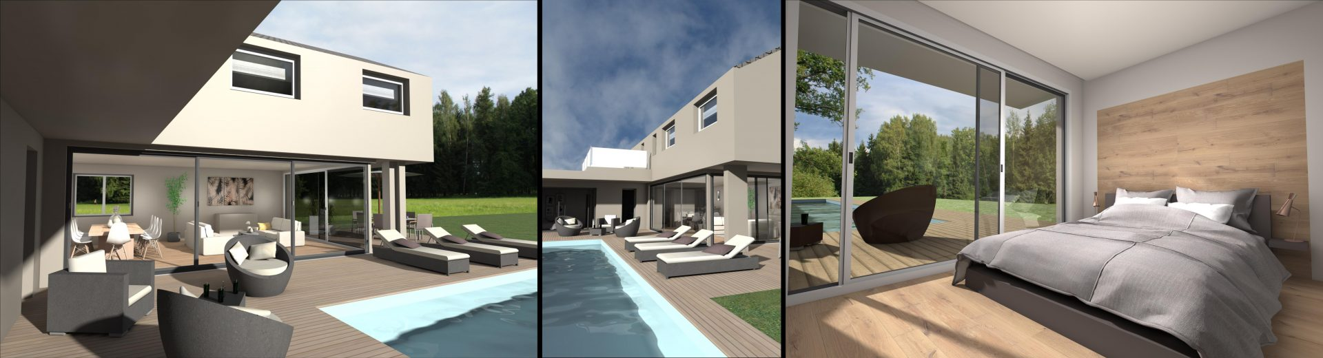 D 39 concept construction et cr ation de a z for Villa concept construction vedene