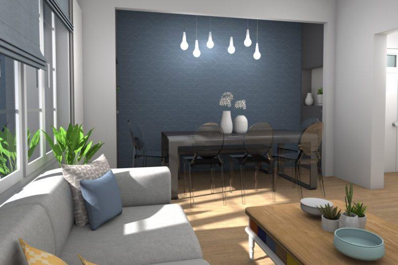 Rénovation d'un appartement à Strasbourg Neudorf