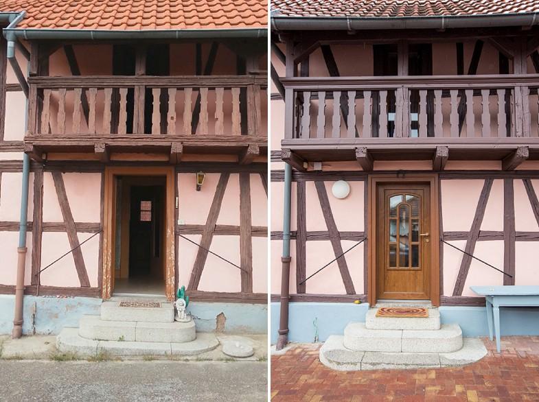 Rénovation maison alsacienne