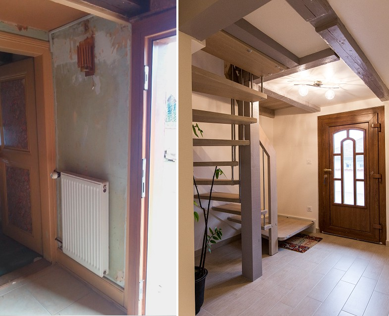 Rénovation maison alsacienne