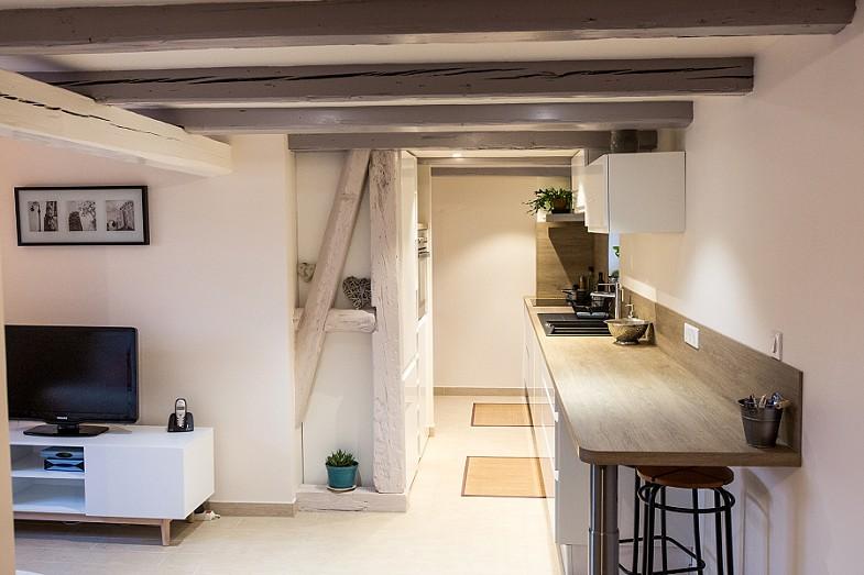 Rénovation d'une maison alsacienne près de Strasbourg